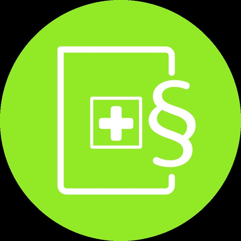Icon Klinikrecht