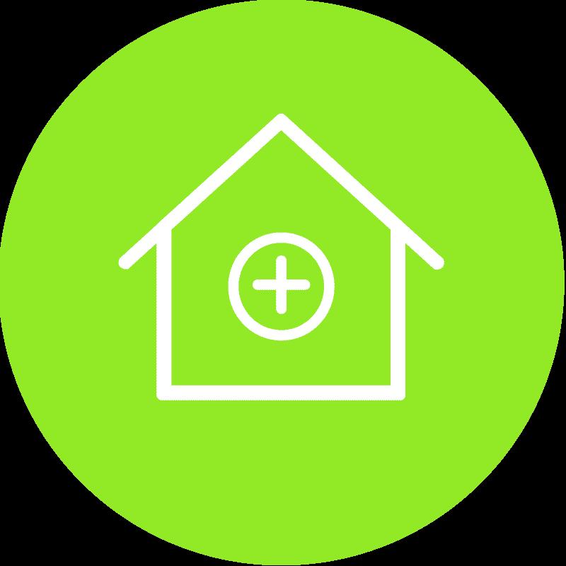 Icon Bau von Gesundheitsimmobilien