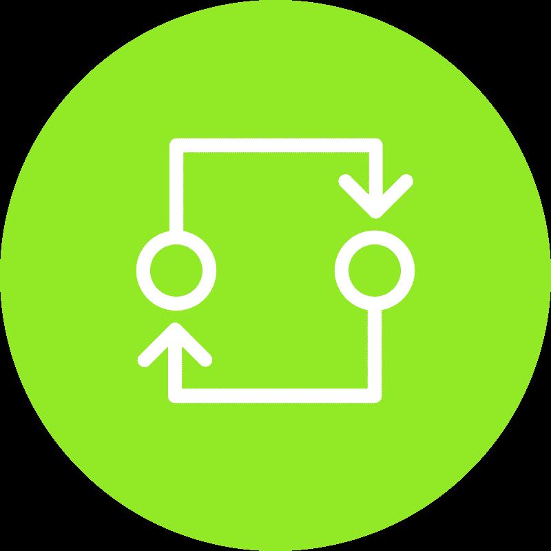 Icon Neupositionierung
